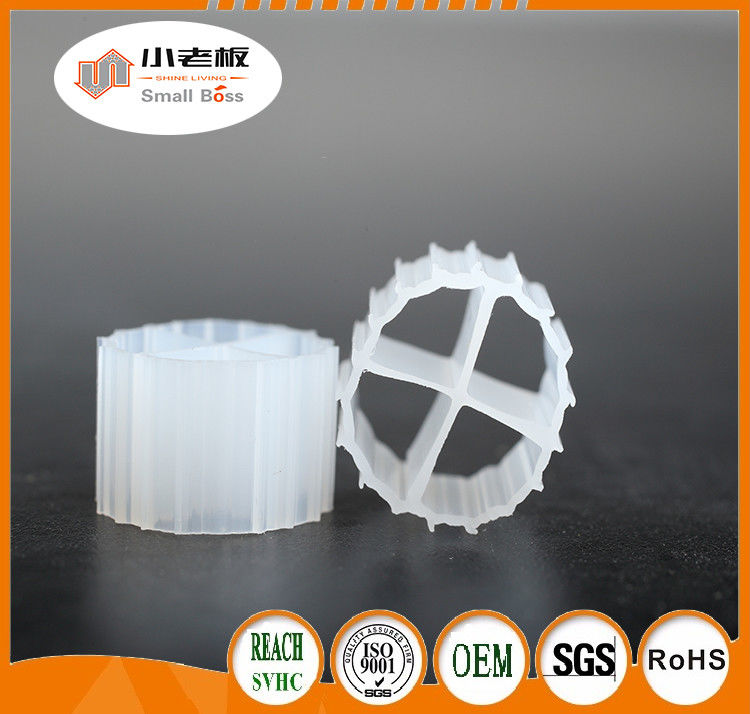 11*7mm natural color and virgin HDPE material MBBR biofilm carrier manufacturer